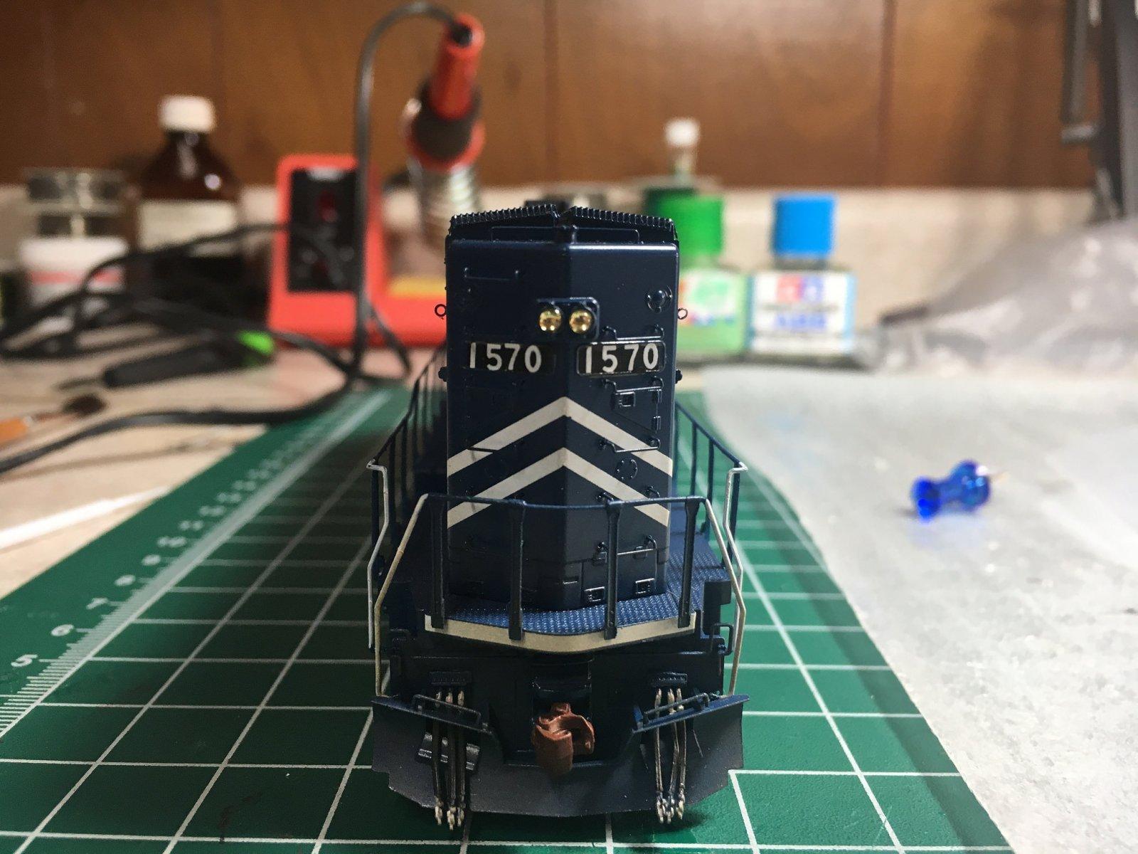 Long hood & rear platform