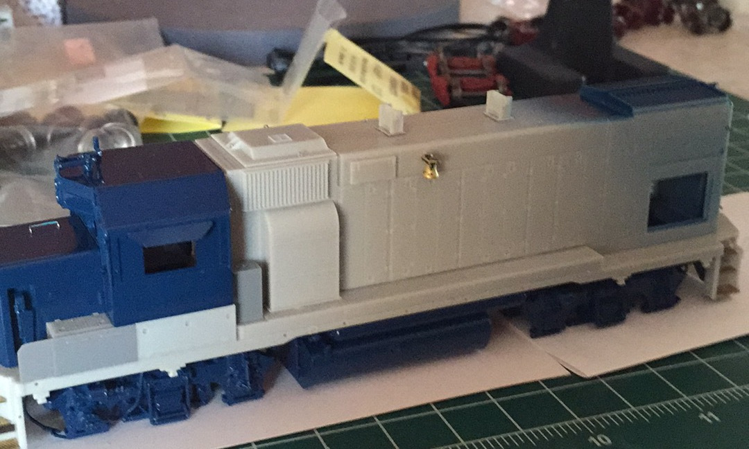 new side mount bell from Athearn Genesis