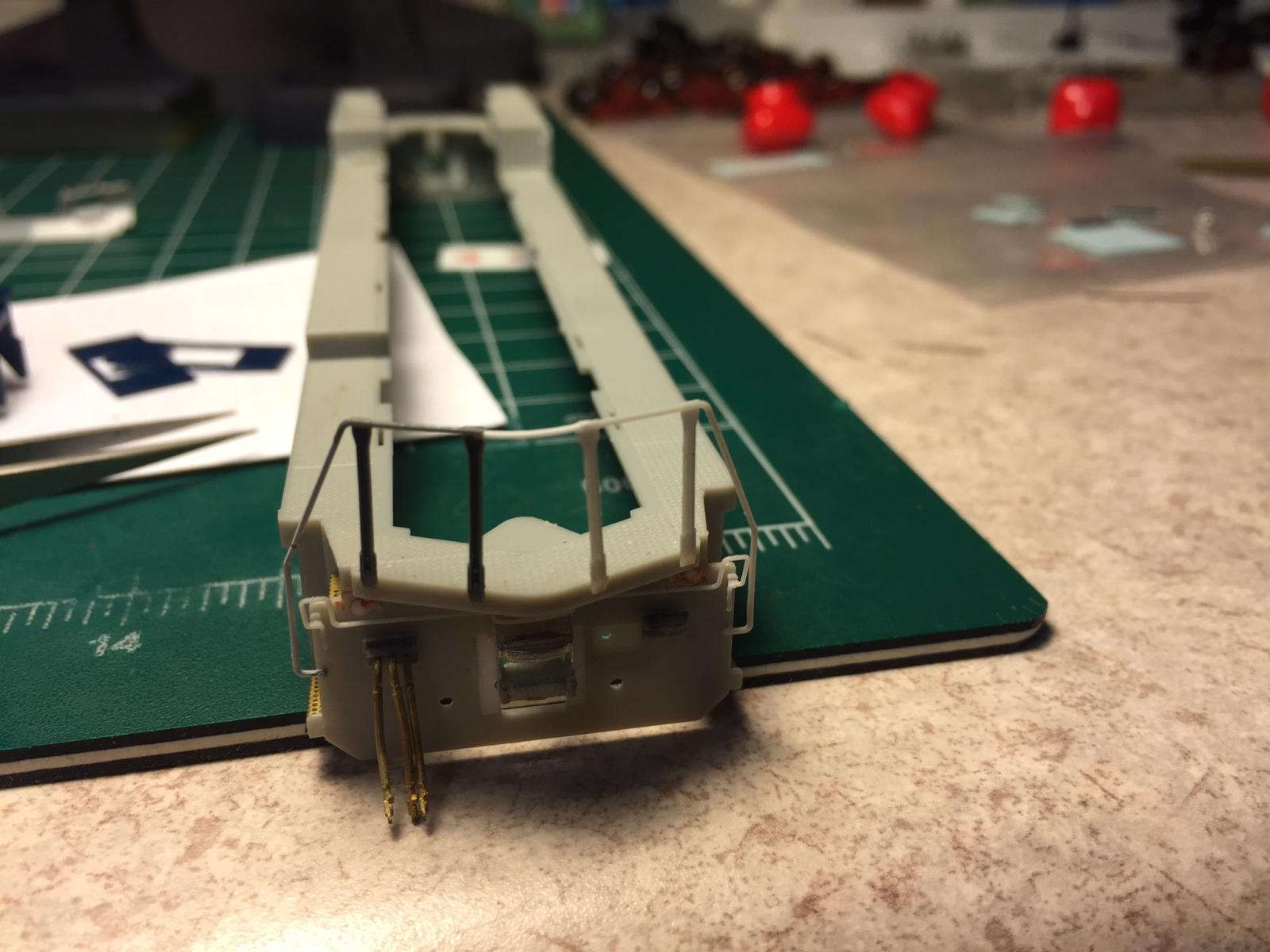 Rear Handrails installed-solid bar