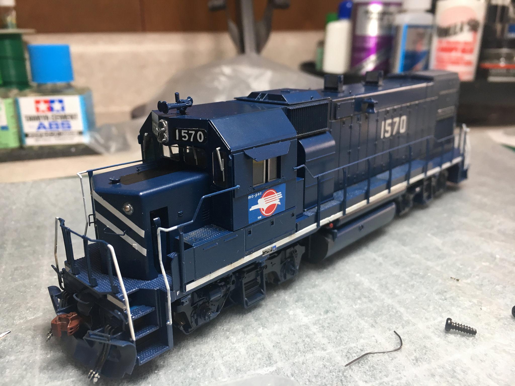 Roster shot; finished model