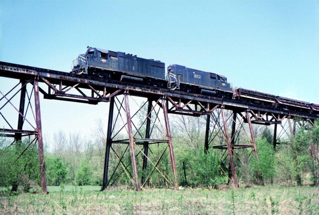 414 on Saline Creek Viaduct